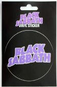 Black Sabbath - 'Logo' Sticker